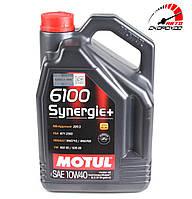 Моторное масло Motul 6100 Synergie+ 10W40 (5л)