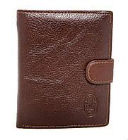 Мужской кошелек коричневый. Кошелёк. Портмоне. Чоловічий гаманець коричневий. Кожаный. Кожа. Шкіра. Шкіряний.