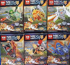 Минифигурки нексо найтс nexo knights lego лего Аксель