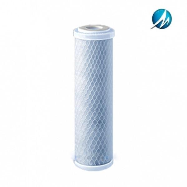 Картридж из брикетированного активированного угля Aquafilter FCCBL 10х2,5