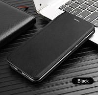 Чехол книжка G-case для Huawei P Smart+ Черная (Хуавей П смарт плюс), фото 1