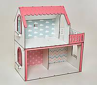 Кукольный домик для Барби NestWood Люкс мини без мебели (kdb001)