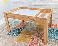 Детский световой стол-песочница Noofik Ясень Базовый (stb002ya)