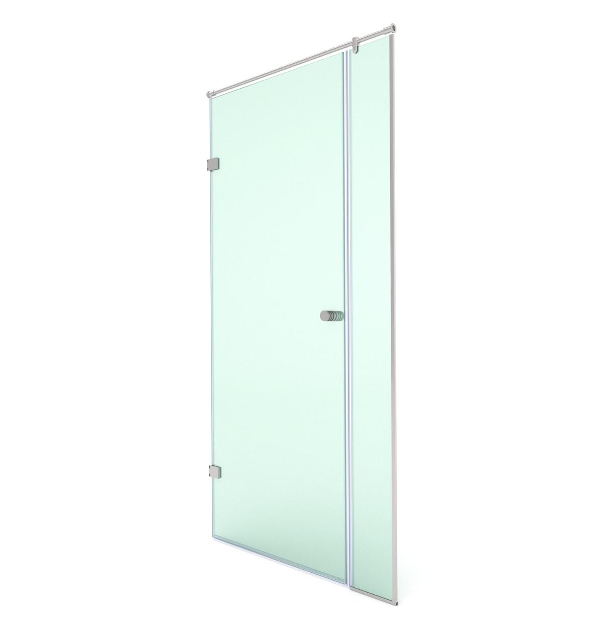 Распашная душевая дверь в нишу, модели SD-02-10