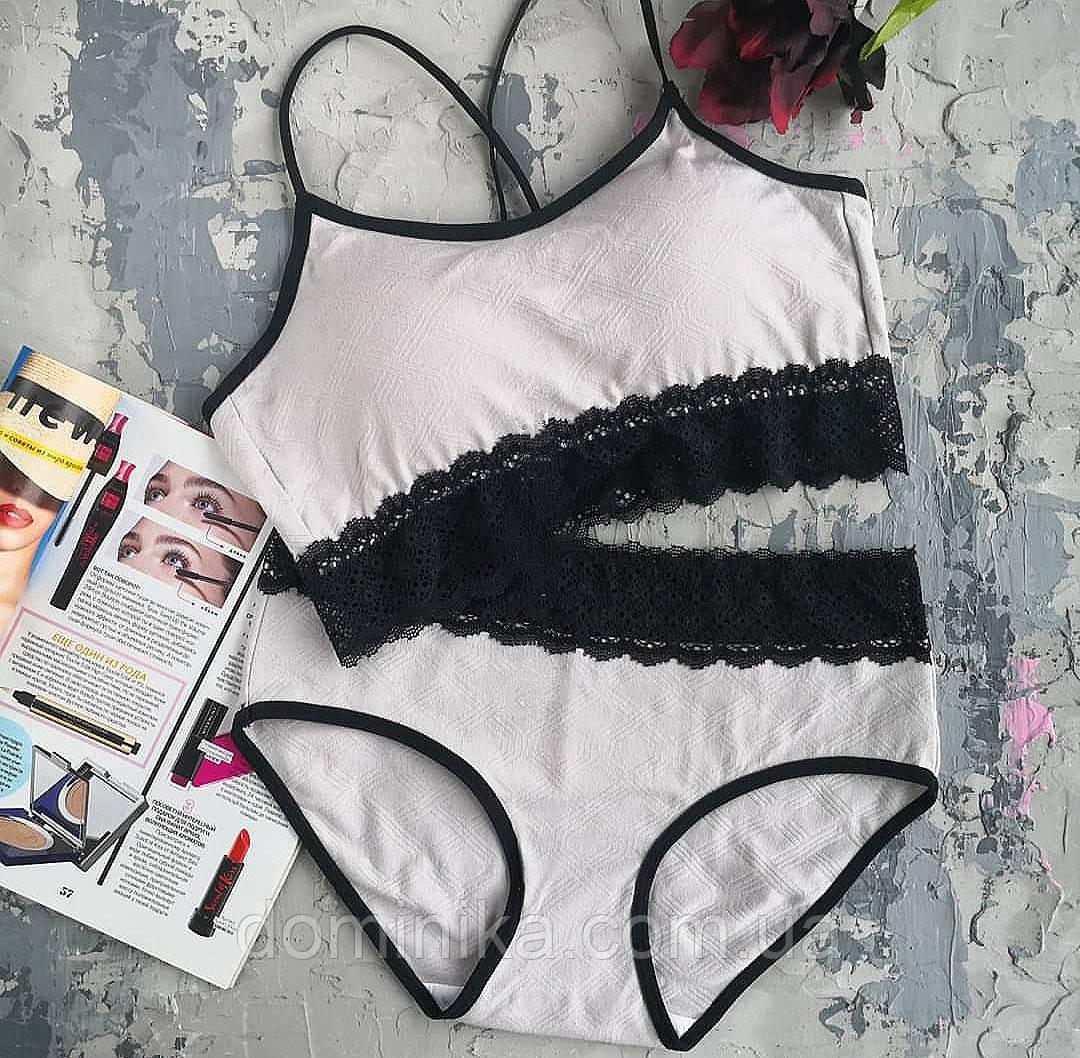 Женское нижнее белье, с кружевом универсальный размер S/M ,серый цвет
