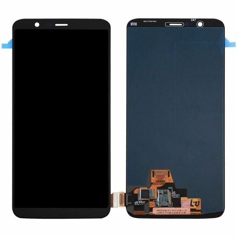 Дисплей (LCD) OnePlus 5T | A5010 TFT с тачскрином, чёрный