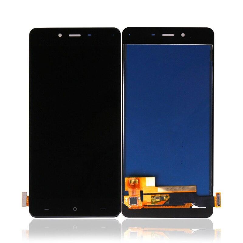 Дисплей (LCD) OnePlus X | E1003 AMOLED з тачскріном, чорний, оригінал (PRC)