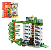 """Игровой набор Паркинг - гараж """"Мега парковка"""" 6 этажей и 4 машинки, Limo Toy, 922"""