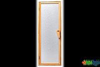Двери для бани и сауны Tesli UNO Silvit 1900 х 700, Дверь стеклянная, Украина, 70/190