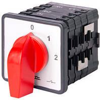 Пакетный переключатель LK40/4.322-SP/45 щитовой, на DIN - рейку, 0-1-2, 40А