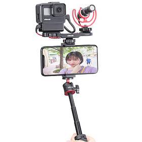 Ulanzi MT-08 Мини-планшет DSLR SLR Телефон Штатив Регулируемый удлинитель Vlog Штатив Travel Ballhead Штатив-1TopShop