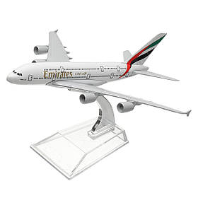 6,3 игрушки модели самолета самолета стола литого металла авиакомпаний A380 16CM-1TopShop