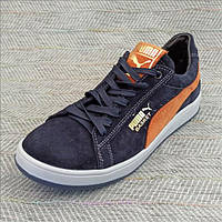 Замшевые кроссы в стиле Puma размер 35 36 37 39