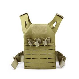 ZANLURE Детский тактический жилет-амфибия Molle Vest На открытом воздухе Охотничий Рыбалка тренировочный жилет-1TopShop