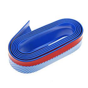 2.5 м универсальный Авто передний бампер губка сплиттер подбородок губ юбка протектор-1TopShop