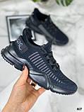 Тільки 36,38 р!!! Кросівки чорні жіночі текстиль, фото 2