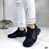 Тільки 36,38 р!!! Кросівки чорні жіночі текстиль, фото 4