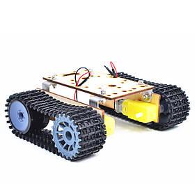 Малый Hammer DIY Умный Деревянный Робот RC Робот С Пластиковым Гусеничным Ремень TT Мотор Для Arduino UNO-1TopShop