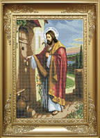 Схема для вишивки бісером Ісус стукає в двері. Арт. КРВ-1  продажа ... 3b1319289442f