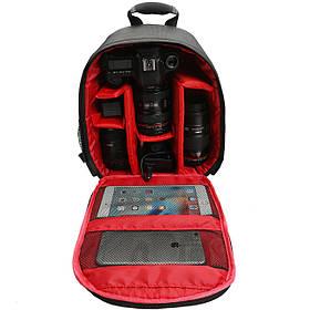 Водостойкий противоударный Travel Carry камера Сумка Рюкзак для Canon для Nikon DSLR камера Штатив Объектив Flash-1TopShop