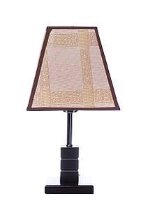 Лампа настольная с абажуром Sunlight ST708 Коричневый