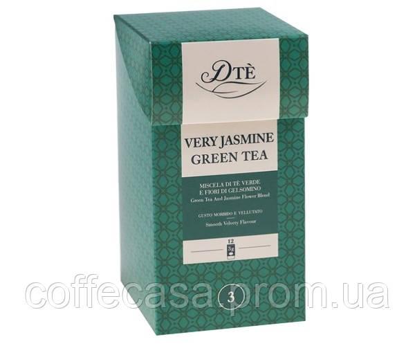 Зеленый чай DTè Very Jasmin Green Tea фильтр-пак 12 шт