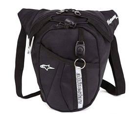 Мото сумка набедренная  Alpinestars текстильная