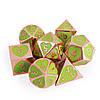 7 Шт. / Компл. Цинковый Сплав Полиэдральные Кубики Ролевые Игры Аксессуары DND Кубики-1TopShop, фото 2