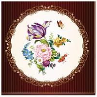Салфетка Luxy цветочный медальон