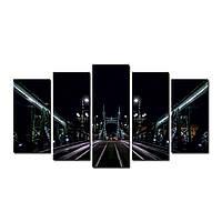 "Модульная картина на холсте ""Будапешт"" 150х70см"