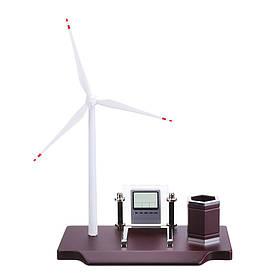 Ветряная мельница Турбина двойного назначения USB / AAA Батарея Генератор Образование DIY Модель Рабочий стол Органайзер-1TopShop