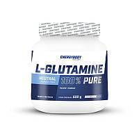 Глютамін Energy Body 100% L-Glutamine pure 500 g без смаку