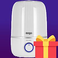 Увлажнитель воздуха ERGO HU 2050 TF — Ультразвуковой увлажнитель с большим объемом 4.2 литра + ПОДАРОК
