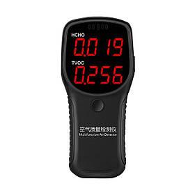 Качество воздуха Монитор HCHO TVOC PM2.5 PM10 Детектор формальдегида LCD Дисплей Тестер -1TopShop