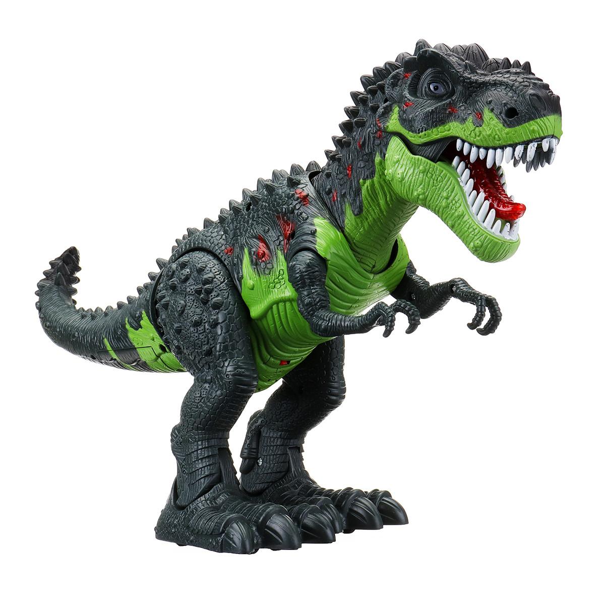 Эмуляционный Спинозавр Игрушка Динозавра Игровой Набор Light Up Sound Walking Мир Динозавров -1TopShop