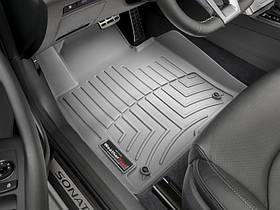 Ковры резиновые WeatherTech Hyundai Tucson USA 16+ передние серые