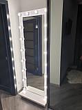 Напольное зеркало с лампочками 1900х700, фото 2