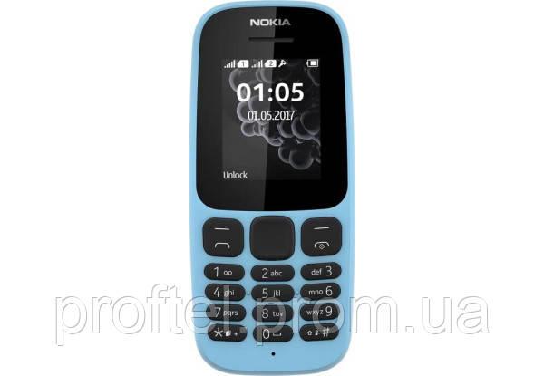 Мобильный телефон Nokia 105 Blue Dual SIM
