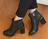 Класичні шкіряні черевички жіночі, фото 2