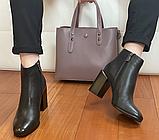 Класичні шкіряні черевички жіночі, фото 4