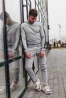 Мужской серый трикотажный костюм Весна/Лето 2020