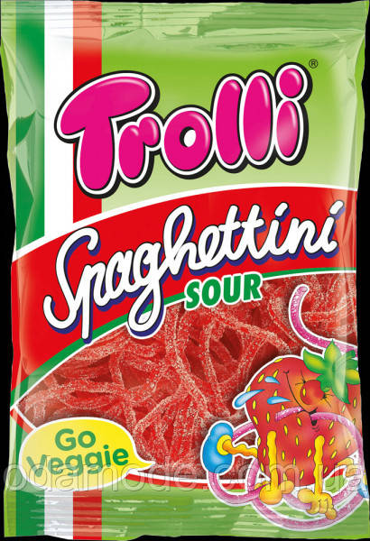 Желейные конфеты Trolli Spaghettini Sour(Германия) 225г