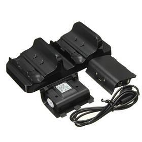 Dual USB зарядка док-контроллеров зарядное устройство с Аккумуляторы для X One-1TopShop