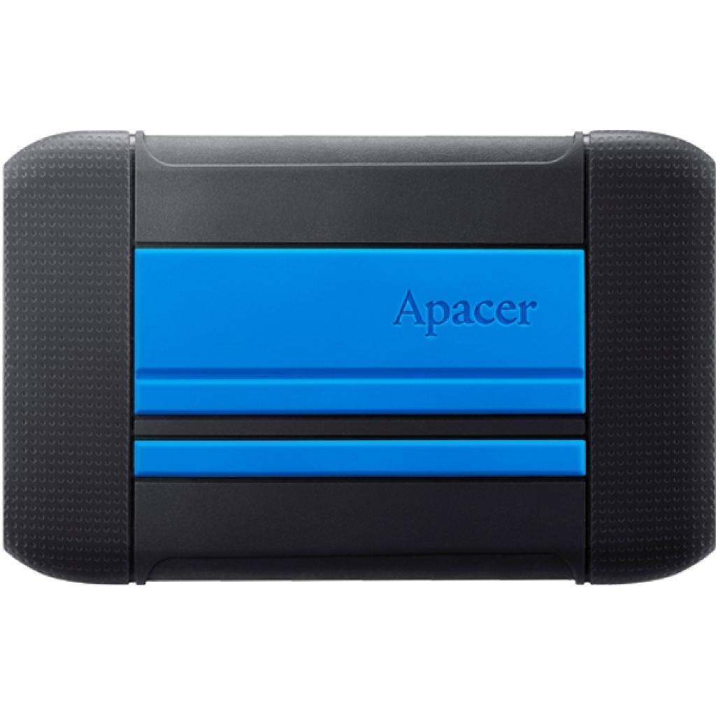 """Внешний жесткий диск 2.5"""" 1TB Apacer (AP1TBAC633U-1)"""