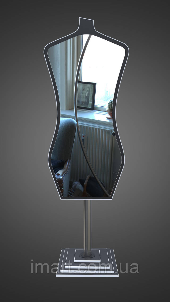 Зеркало напольное манекен