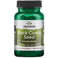 Black Cumin Seed, Swanson Premium, 400 mg 60 Caps / Семена черного тмина