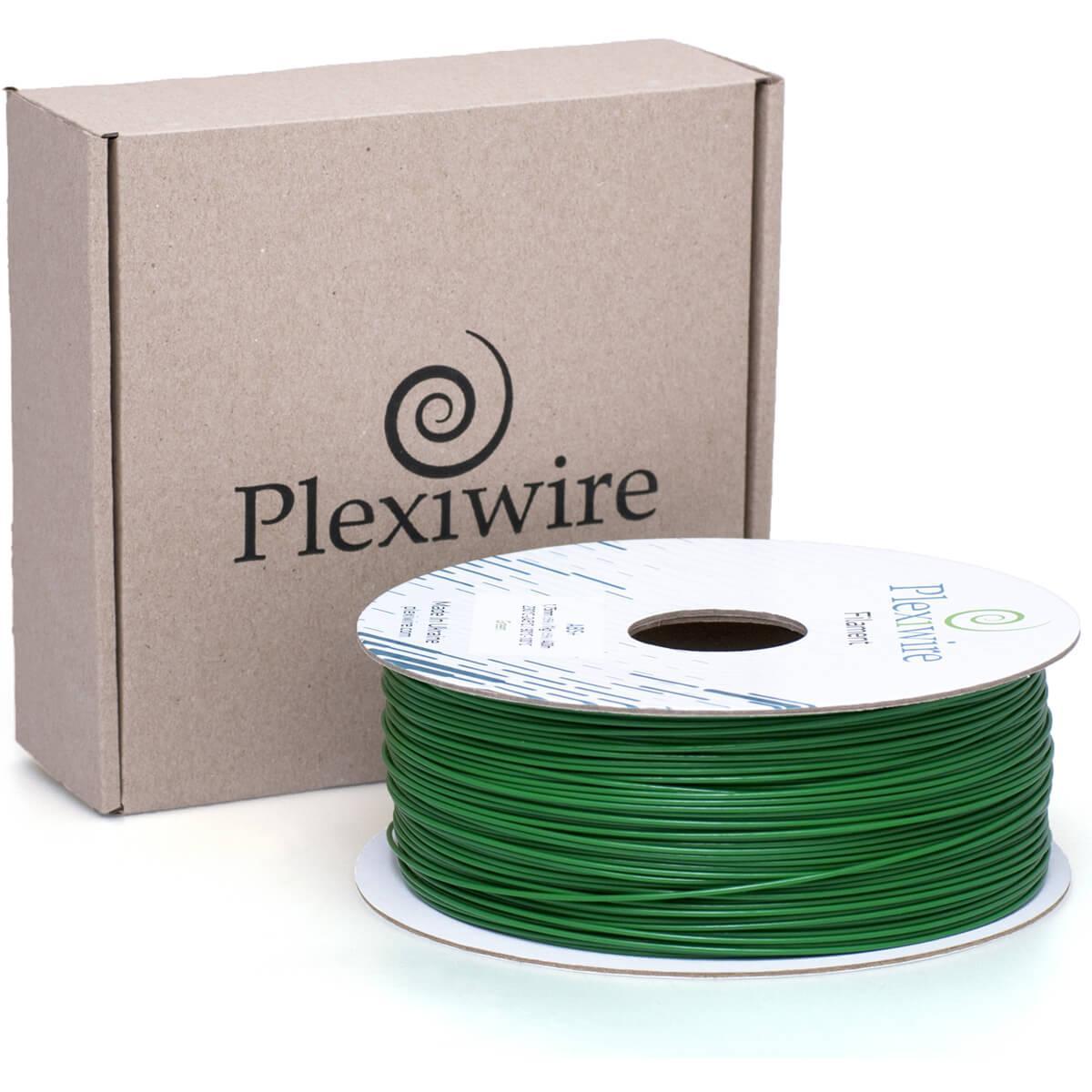 Пластик в котушці PLA 1,75 мм 1,185кг/400м Plexiwire Зелений
