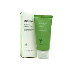 Innisfree Ночная маска Зеленый Чай Green Tea Sleeping Pack 80ml