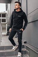 Черный спортивный костюм мужской Of-White