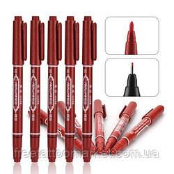 Трансферный маркер для нанесения эскиза на тело (красный)